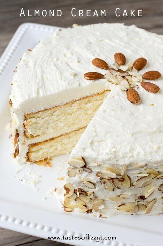 Vegan Chocolate And Almond Milk Cake