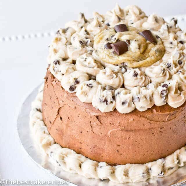 cookie dough cake chocolate chip cookie dough layer cake with chocolate and 3036