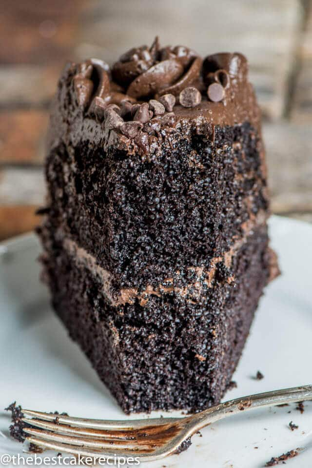 Chocolate Guinness Cake With Chocolate Ganache
