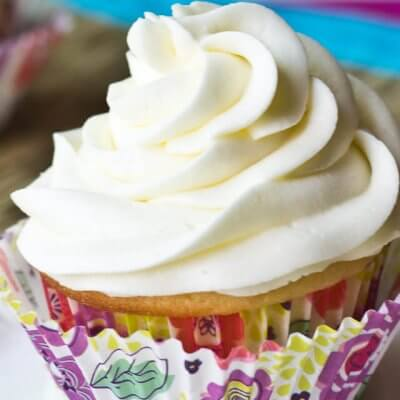 Easy Vanilla Buttercream