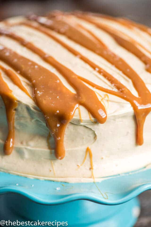 Caramel Cake From Scratch