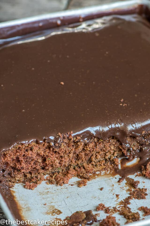 Chocolate Zucchini Cake Calories