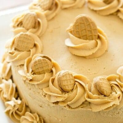 Nutter Butter Peanut Butter Cake