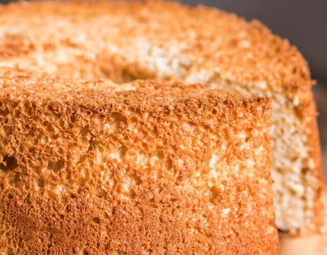 Brown Sugar Angel Food Cake