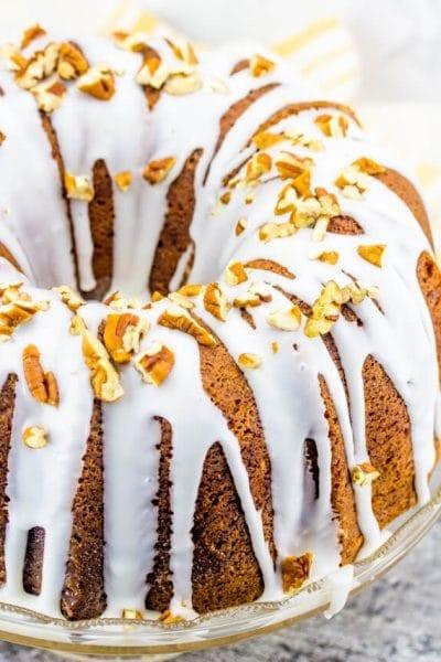 Butter Pecan Bundt Cake