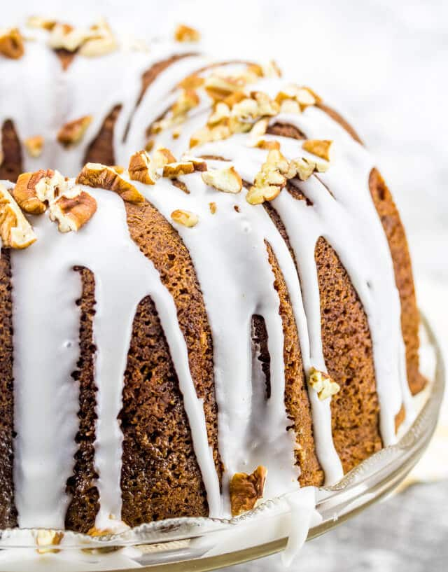 Coffee Cake With Lots Of Butter Cream Cheese Icing