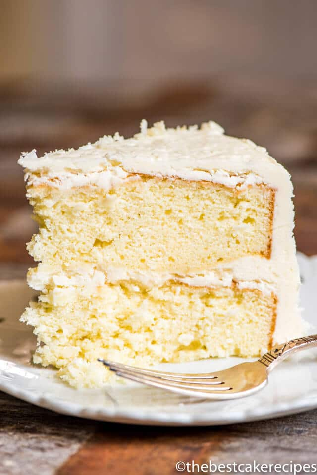 Fluffy Coconut Cake Icing