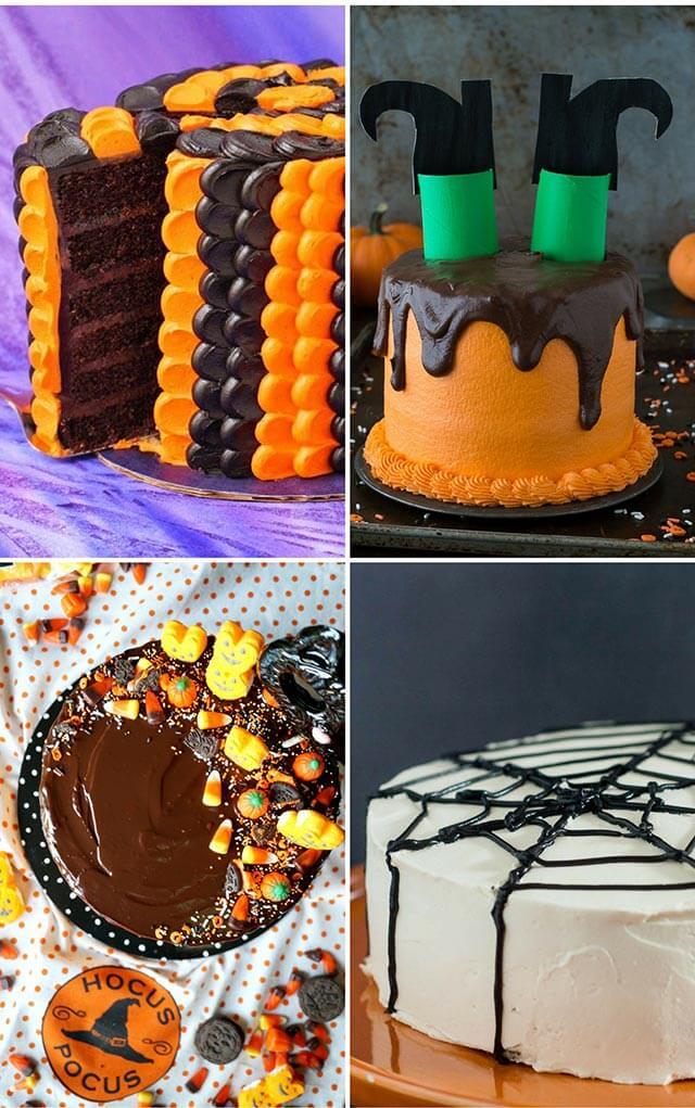 Chocolate Orange Halloween Cake Recipe