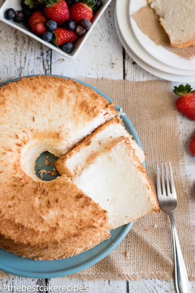 Angel food cake recipe easy low fat cake recipe angel food cake ingredients forumfinder Image collections