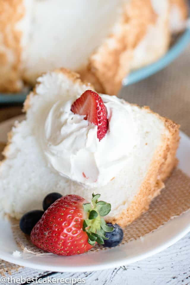 Angel food cake recipe easy low fat cake recipe angel food cake recipe forumfinder Images
