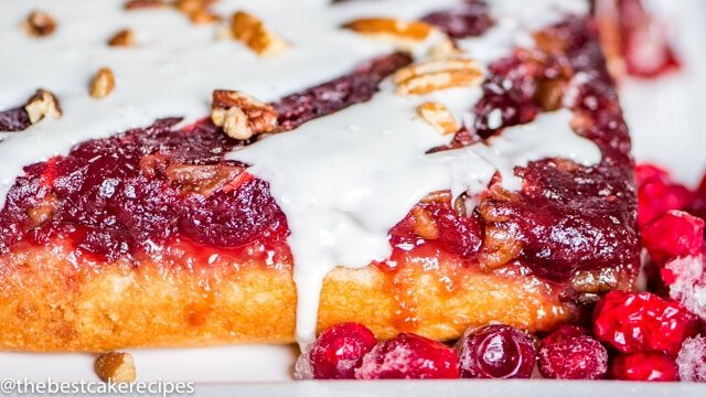 Easy Cranberry Upside Down Cake
