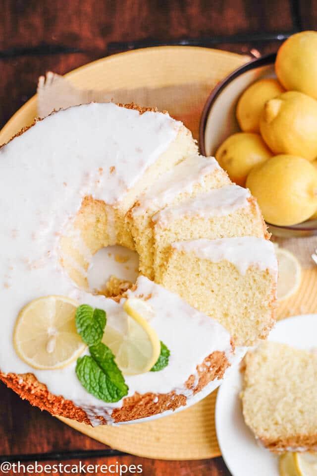 soft fluffy lemon chiffon cake recipe
