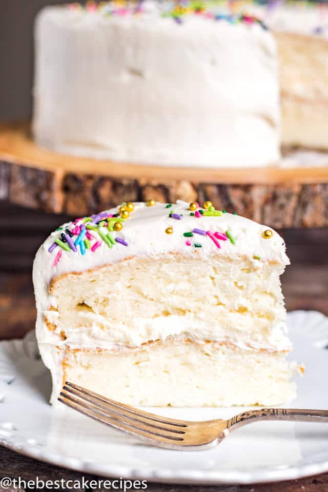 Gluten Free Vanilla Cake Easy From Scratch Grain Free Cake Recipe