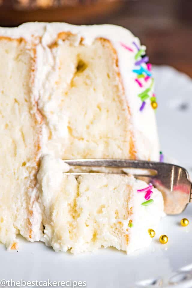 Gluten Free Vanilla Cake Easy From Scratch Grain Free Cake Recipe