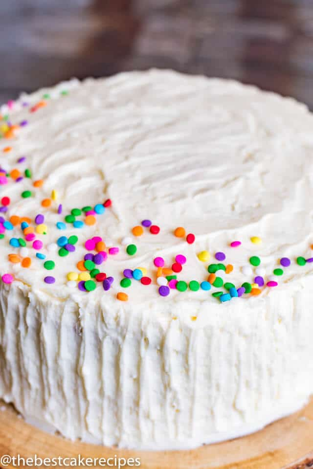 Vanilla Cake Recipe From Scratch Homemade Cake With