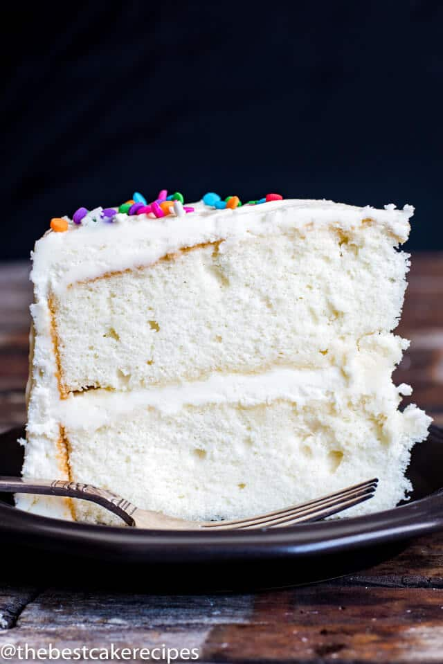 Recipe For White Cake Made From Scratch