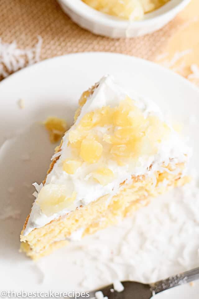 Sugar Free Fresh Pineapple Upside Down Cake