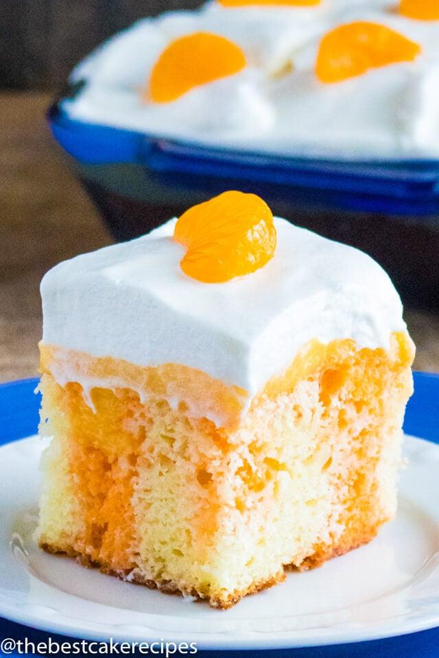 Easy Creamsicle Cake