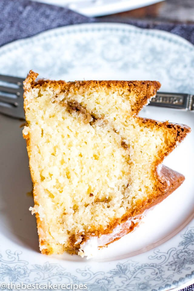 Sour Cream Coffee Cake No Butter
