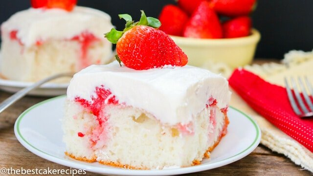 Strawberry Refrigerator Sheet Cake Recipes