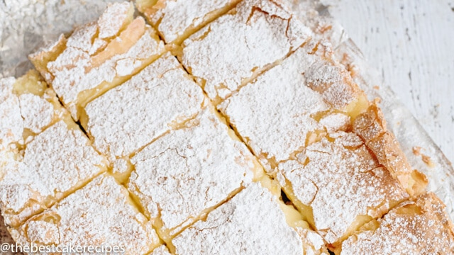 Easy Gooey Butter Cake From Scratch