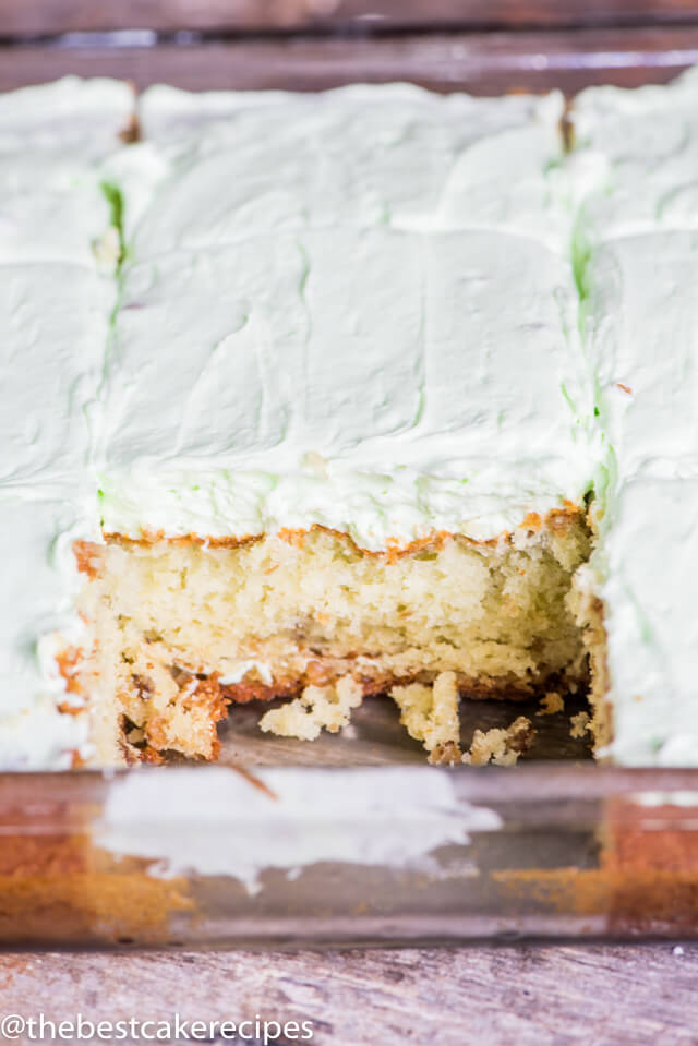 Pistachio Cake Frosting With Cool Whip