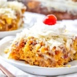 broiled topping for cake recipe