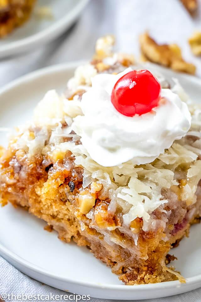 fruit coconut cake recipe