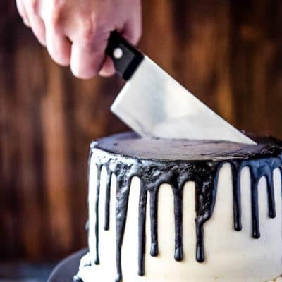 Bloody Halloween Cake