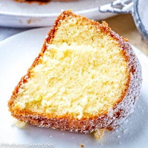 Moist, tender pound cake with the flavors of lemon, almond, cardamom and vanilla. This German Butter Pound Cake is easy to make. Sprinkle with sugar or serve with fresh fruit or ice cream.