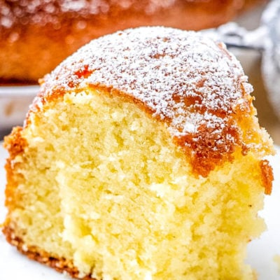 German Butter Pound Cake