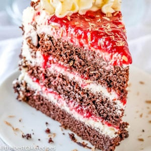 Homemade Chocolate Raspberry Cake Recipe