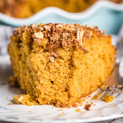 Pumpkin Sourdough Coffee Cake