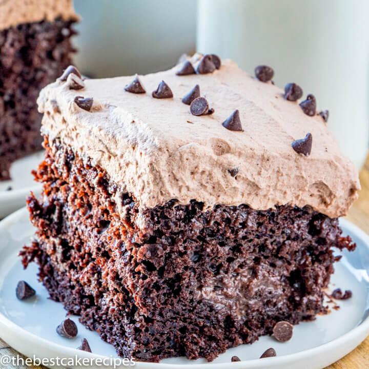 Superb Chocolate Tres Leches Cake Recipe Homemade Three Milk Cake Funny Birthday Cards Online Kookostrdamsfinfo